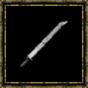 Epée longue en acier
